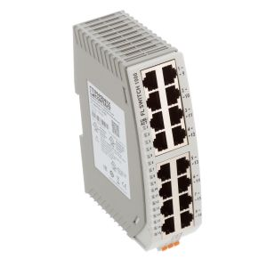Unmanaged Ethernet Switch, DIN Rail