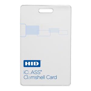 iClass Clamshell Card, 13.56 MHz
