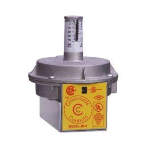 Air Pressure Switch, 0.1-24 in. w.c.