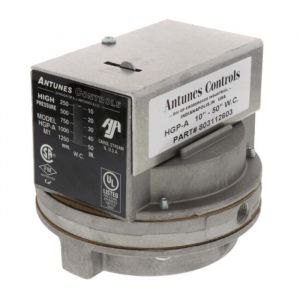 Low Gas Pressure Switch, 1-6 in. w.c.