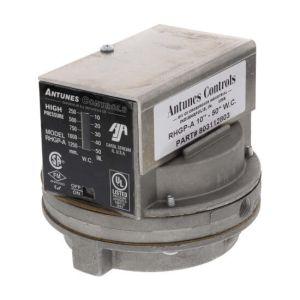High Gas Pressure Switch, 10-50 in. w.c.
