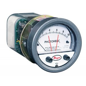 Photohelic Pressure Switch And Gauge