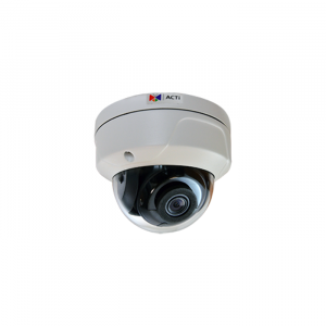 6MP Outdoor Dome IR 2.8mm Fixed Lens