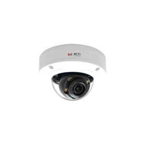 ACTi 3MP Outdoor MiniDome IR 2.8 mm Lens