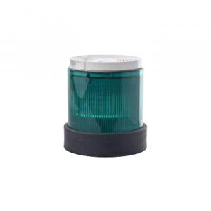 Illuminated Green Lens