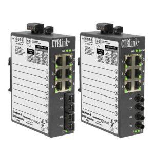 Skorpion Managed Switch, DIN Rail