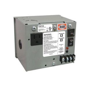 Enclosed Single Power Supply, 75 VA