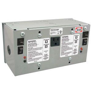 Enclosed Dual Power Supply, 75 VA
