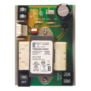 Track Mount Isolated Linear Power Supply