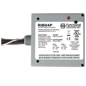 Enclosed Power Relay, 20 Amps