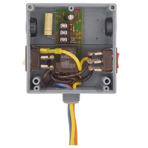 Enclosed Power Control Relay, 20 Amps