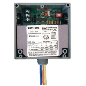 Enclosed Time Delay Relay, 20 Amps