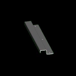 S.S. Drip Shield, 12 in.