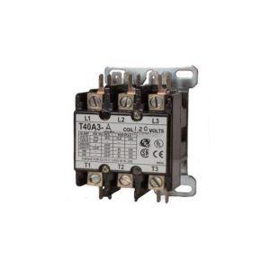 DP Contactor, 3 Pole, 30 Amps
