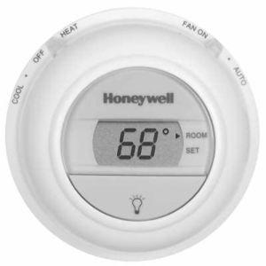 Digital Round Thermostat