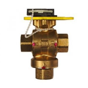 Ball Valve Assembly, 3 Way, 2-1/2 in.